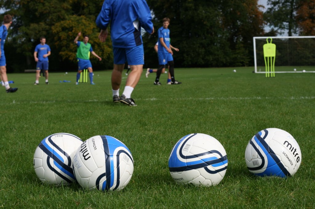 a paper on pre season football conditioning Here is a pre-season football (soccer) conditioning drill we use in the general preparation phase in the off season with our football.