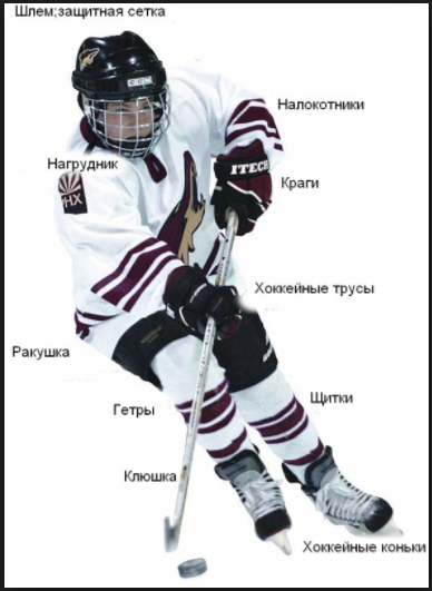 Hockey cloth
